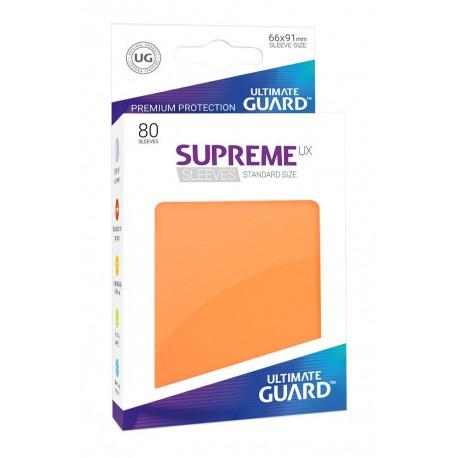 Fundas Ultimate Guard Ux Supreme Naranja (80)