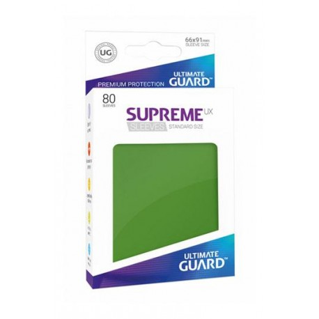 Fundas Ultimate Guard Ux Supreme Verde (80)
