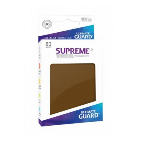 Fundas Ultimate Guard Ux Supreme Marron (80)