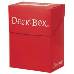 Deck Box Roja