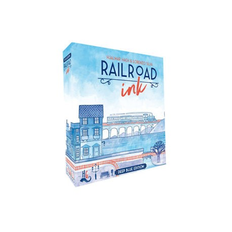 Railroad Ink Deep Edición Azul