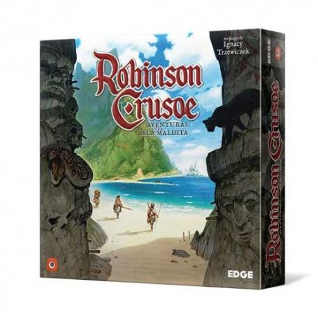Robinso Crusoe: Aventuras en la Isla Maldita