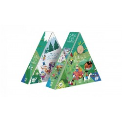 Puzzle Let's Go To The Mountian 36 piezas