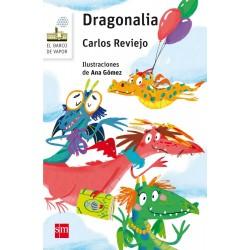 El dragón color frambuesa