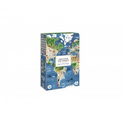 Puzzle Discover The World 200 piezas